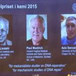 पॉल मॉड्रिक, अजीज सेंकर और थॉमस लिंदल - न्यूज़ अपडेट 8 अक्टोबर 2015