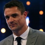 Winner of Overseas Sports Personality of the Year, Dan Carter with his award during Sports Personality of the Year 2015 at the SSE Arena, Belfast. PRESS ASSOCIATION Photo. Picture date: Sunday December 20, 2015. See PA story SPORT Personality. Photo credit should read: Niall Carson/PA Wire
