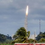 Vega-rocket-blasts-off-with-gravity-hunting-satellite-300x200