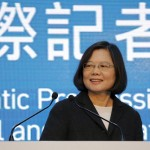Democratic Progressive Party (DPP) Chairperson and presidential candidate Tsai Ing-wen announces her election victory to the media at their party headquarters in Taipei, Taiwan January 16, 2016. REUTERS/Damir Sagolj