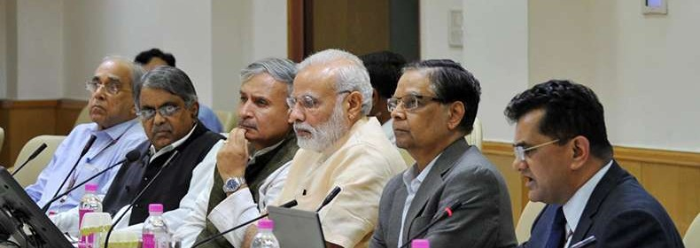 PM asks NITI Aayog to create vision document