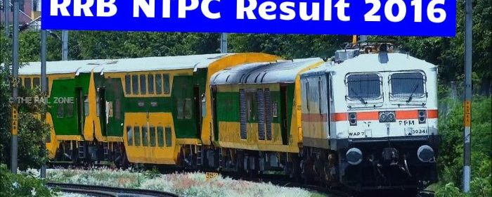 RRB NTPC Result Declared