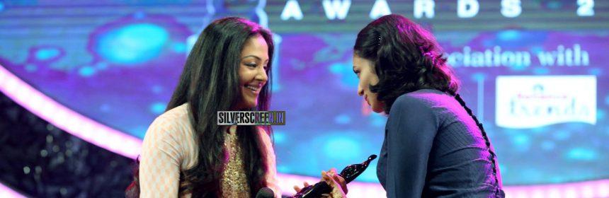 Jyothika and Malavika Nair at the 62nd Filmfare Awards South Photos