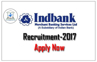 IndBank Specialist Officers 2017 Notification Out