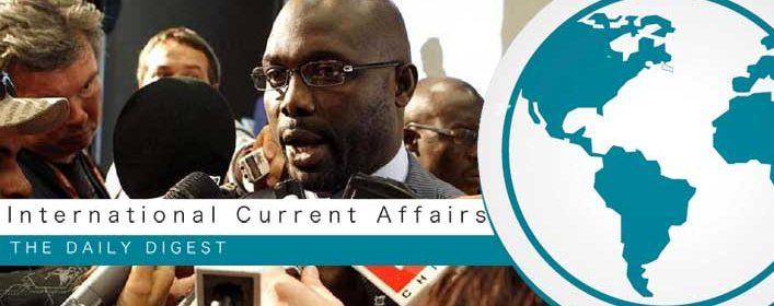 George Weah appointed as the president of Liberia