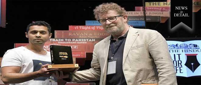 Deepak Unnikrishnan wins The Hindu Prize