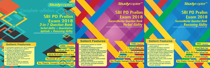 Best Book for SBI PO 2018 - SBI PO BOOKS 2018 - 19 SBI PO Books pdf