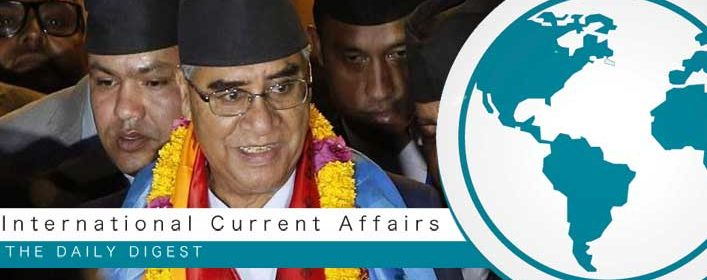 K.P. Sharma Oli sworn in as Nepal PM for second time