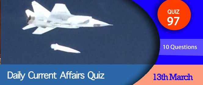Daily Current Affairs Quiz