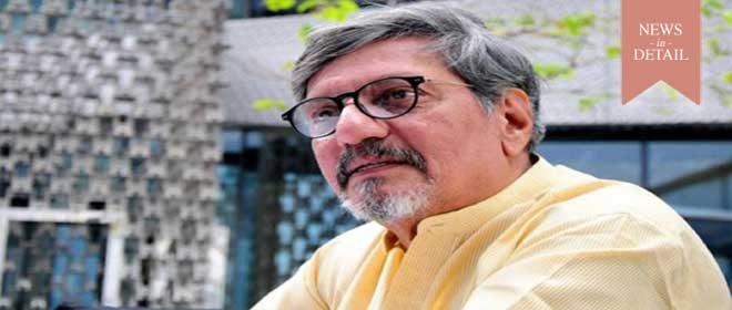 Amol Palekar receives 'Godavari Gaurav' award