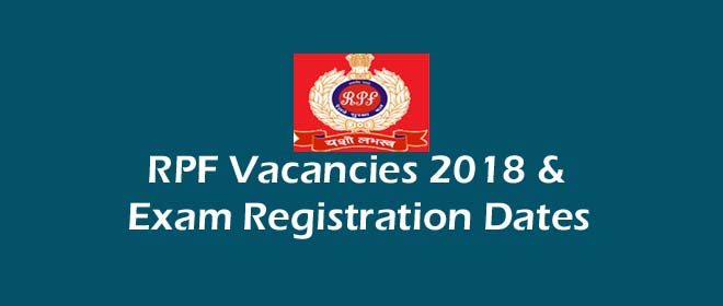 RPF Vacancies 2018