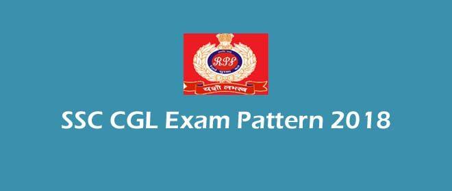 SSC CGL Exam Pattern 2018