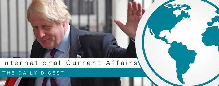 British Foreign secretary Boris Johnson quits over Brexit plans