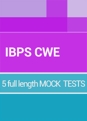 IBPS CWE-Clerical Course